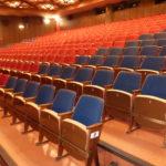 Kino před demontáží sedaček