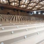 Montáž sedaček - kostry budoucích sedaček